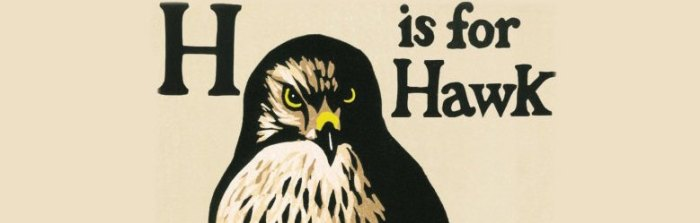 Book of the Year, 2015: H is For Hawk.