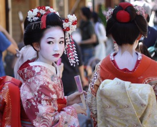 Japan 4: In search of the Geisha