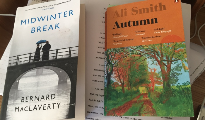 My First Two Reads of 2018: Autumn and Midwinter Break