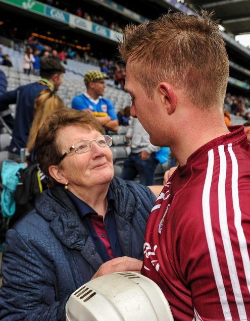 joe canning and his mother